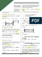examen de matematica y razonamiento para 5 de secundaria