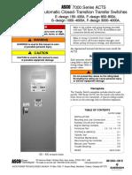 Manual ATS 7000 Cerrada