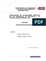 Informe de Investigación Serums Microred Pitipo