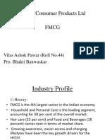 Godrej Consumer Products Ltd Swot analysis