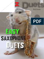 Nick Homes - Easy Saxophone Duets