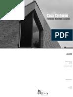Casa Calderón - Fernando Martínez Sanabria