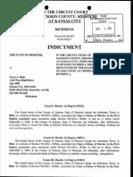 Indictment Terry Blair MO