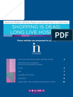 Shopping is Dead, Long Live Hosping