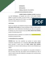 DEMANDA ALIMENTOS FIORELA ROMERO