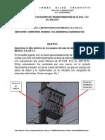 REPORTE TECNICO DE EQUIPO DE TRANSFORMACION DE 45 KVA