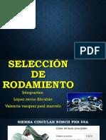 Seleccion de Rodamientos.pptx