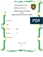Monografia para PNP Falsificación de Documentos