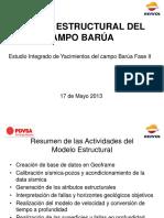 1 ESTRUCTURAL Presentacion UMAM Final Modelo Estructural del Campo Barúa 2013.pptx