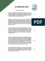 Catalogo de Servicios Sgcc