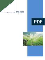 descrição de como fazer irrigação em terreno