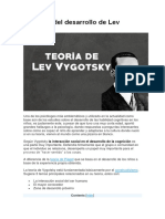 La teoría del desarrollo de Lev Vygotski