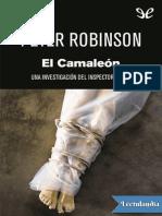 El camaleon - Peter Robinson