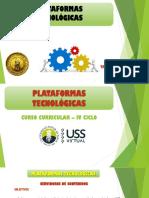 PLATAFORMAS  TECNOLÓGICAS  3