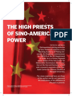The High Priests of Sino American Power