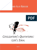 Civilization s Quotations Life s Ideal