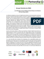 CPDE FG _Key recomendations_3MR - fren