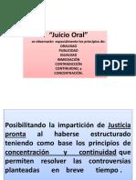 GENERALIDADES DE LOS JUICIOS ORALES MERCANTIL Y CIVIL