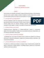 1-Cuestionario Principios de Ciencias Politicas