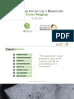 [Germany] Branch Proposal - TH Rosenheim 2019m