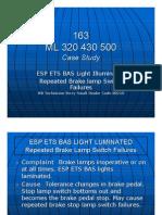 163 Case Study for Brake Lamp Switch Failuers