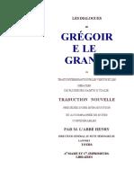 Les Dialogues de Gregoire le Grand - livre 1