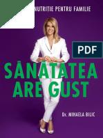 Sanatatea are gust - ed 2 - Dr. Mihaela Bilic