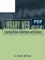 Wilson, P. - Lbrary Web Sites.pdf