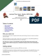 Laminar Flow Hood - Build a HEPA filter flowhood _ Fungifun.pdf