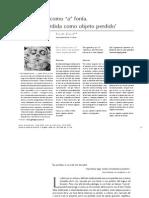 19.CGillie.de La Voz Perdida Como Objeto Perdido
