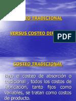costeo tradicional versus coteo directo