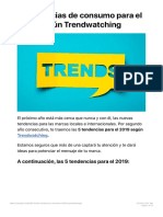 5 tendencias de consumo para el 2019 según Trendwatching - Insights Media-2