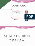 BACAAN SHALAT