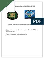 monografia, nuevos avances en la ing quimica del gas y energia