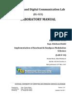 PAM., ASK, FSK and PSK Transmitter test