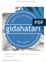Modelamiento de la zona no saturada — gidahatari