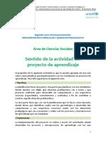Actividad III -  Ciencias Sociales SCHARFF