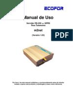 Manual m2net