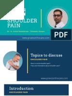 Shoulder Pain - Best Shoulder Pain Treatment in Bangalore   Praxis Ortho Care -Bangalore PPT