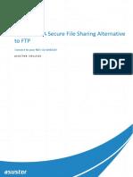 WebDAV – a Secure File Sharing Alternative
