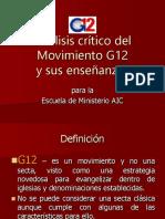 Análisis crítico del G12.ppt