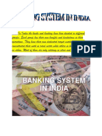 In India the banks and banking have been divided in different groups  3 pages