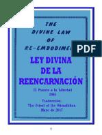 Ley divina de la reencarnacion