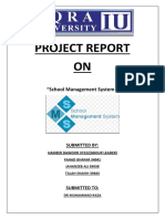 PROJECT of software engineering