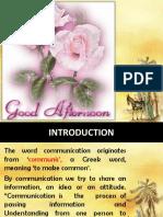communcation ppt
