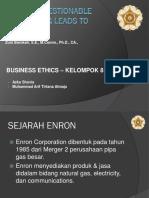 presentasi Enron BE