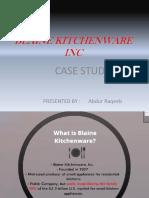 Presentation case stydy in finance