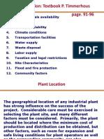 Plant location-Case-Study