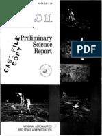 Apollo 11 Preliminary Science Report