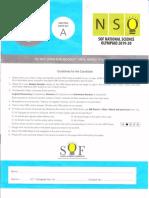 NSO Class#3 SetA 2019